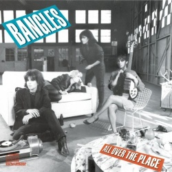 Bangles All Over the Place sleeve featuring Susanna Hoffs and Rickenbacker 325