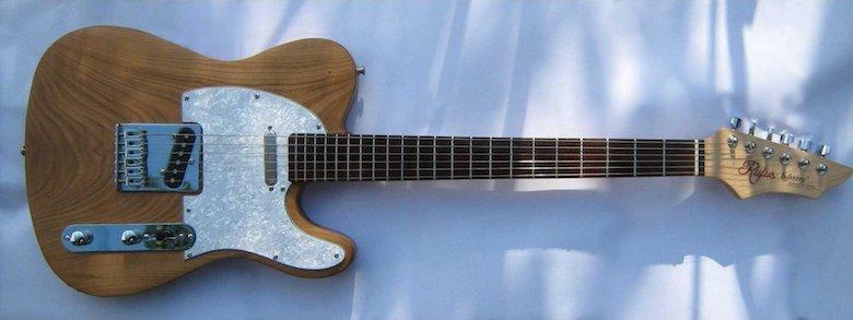 Rufus infinity custom guitar