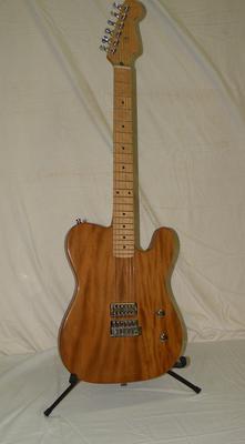Our first research guitar. Tele / LP Jr tone!